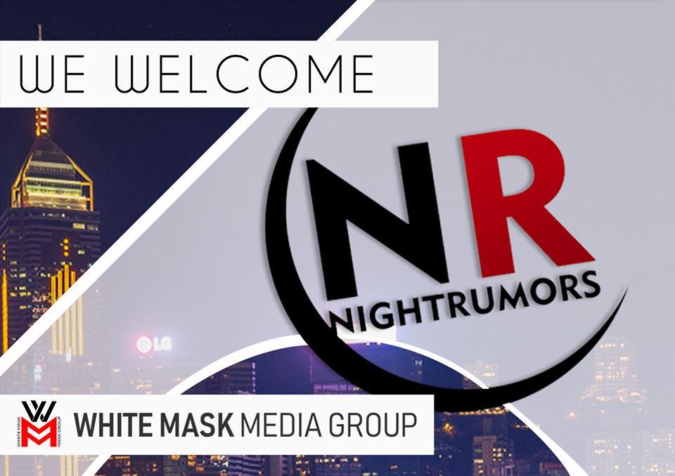 Η White Mask Media Group σας παρουσιάζει το νέο της site Nightrumors.gr
